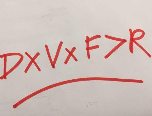 Una formula per il cambiamento