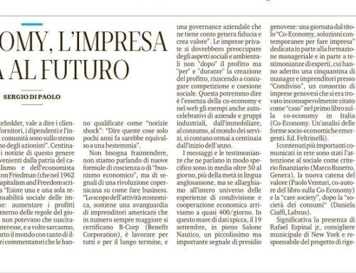 CO-ECONOMY, L'IMPRESA CHE PARLA AL FUTURO